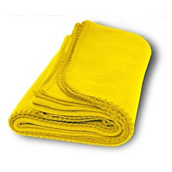 da7abea6e2 Promo Fleece Blanket - Yellow