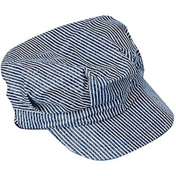 05f637234b0a5 Wholesale Child Size Striped Train Engineer Hat (SKU 1776491) DollarDays