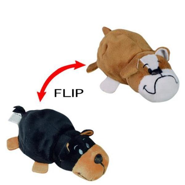 Wholesale Flip A Zoo 5 Bulldog To Yorkie Plush Sku 2321807 Dollardays