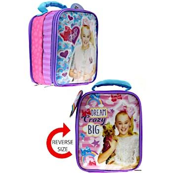 742dfa60060 Wholesale Jojo Siwa Double Sided Lunch Bag (SKU 2325320) DollarDays