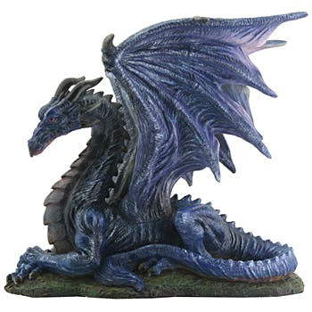 Midnight Dragon Figurine